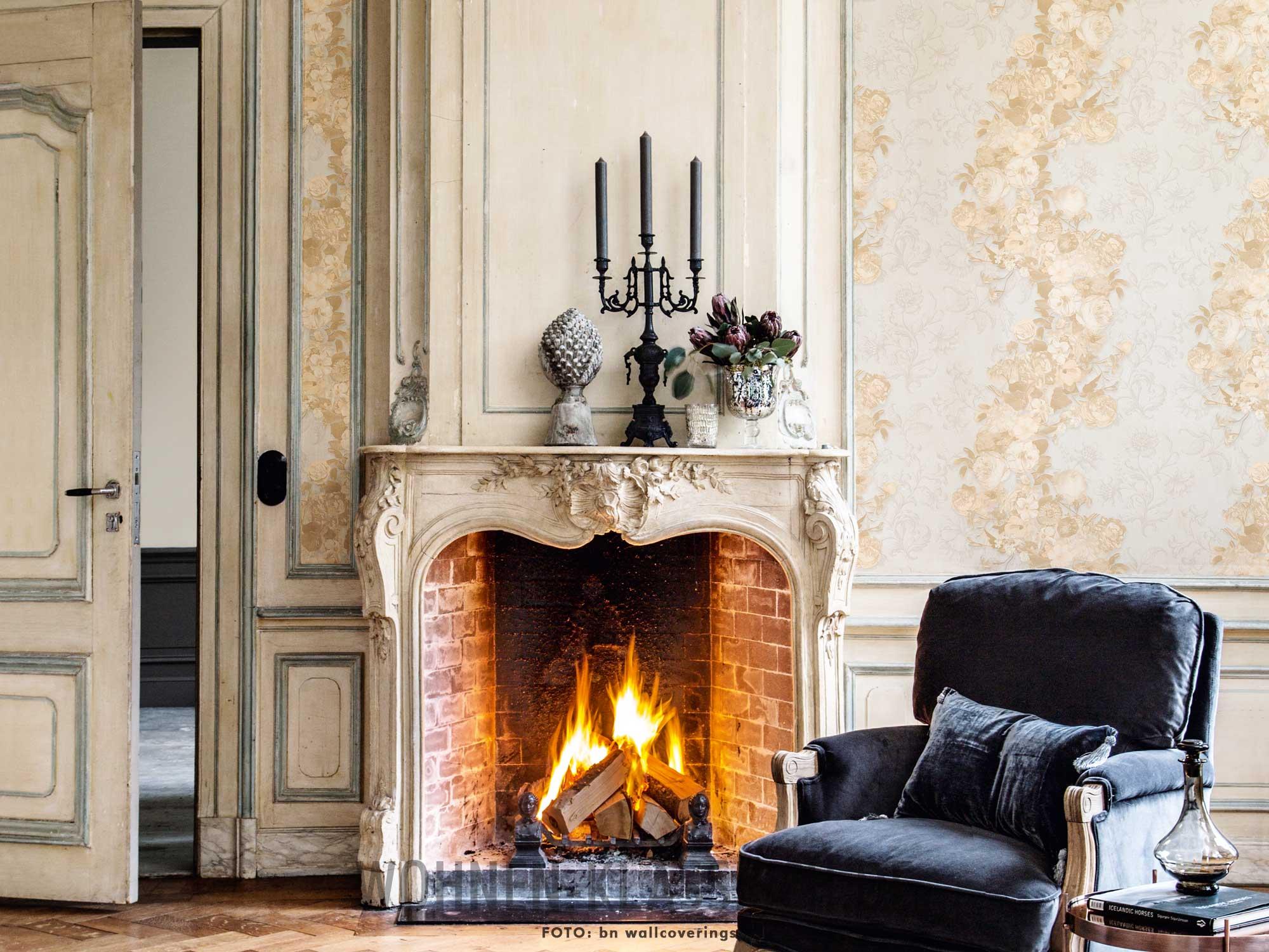 wie aus vergangenen tagen klassisch wohnen. Black Bedroom Furniture Sets. Home Design Ideas