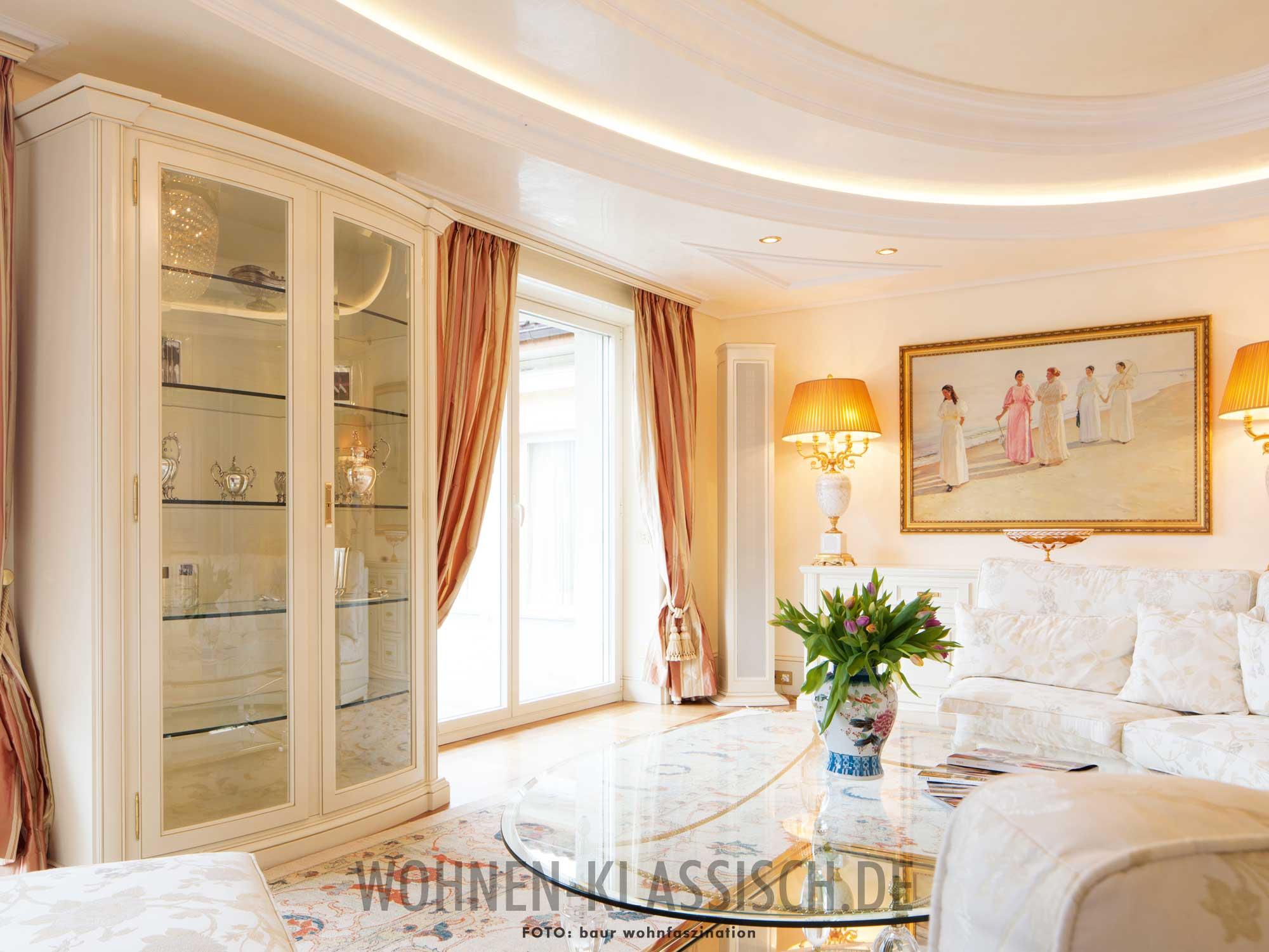 Perfekte raumnutzung im wohnzimmer klassisch wohnen for Wohnzimmer klassisch