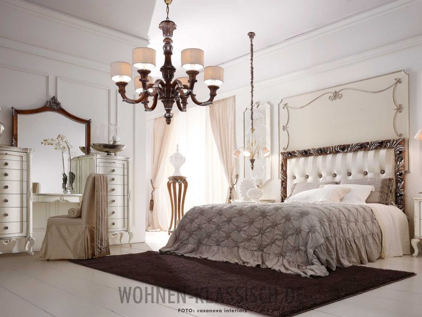 glamour ses schlafgemach klassisch wohnen. Black Bedroom Furniture Sets. Home Design Ideas