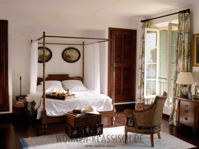 nostalgische note klassisch wohnen. Black Bedroom Furniture Sets. Home Design Ideas
