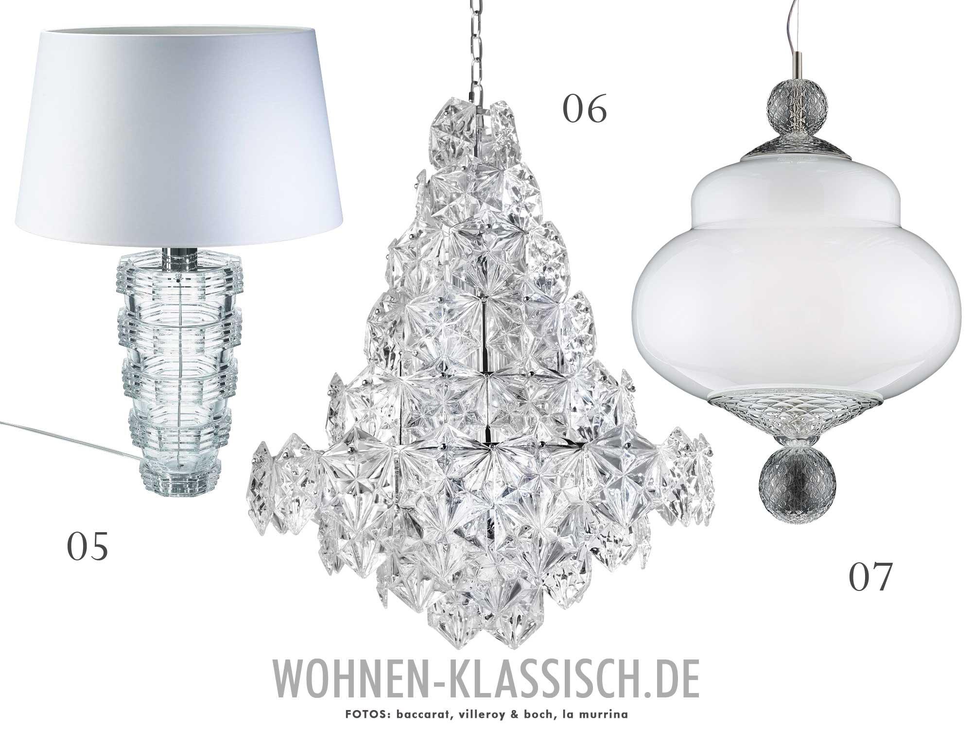 Top Ten: Elegante Beleuchtung | KLASSISCH WOHNEN